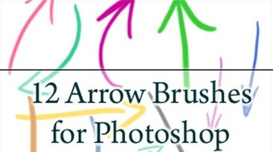 12 arrow brushes – PS7 and cs3
