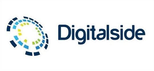 digital side free vector logo download - logo psd file