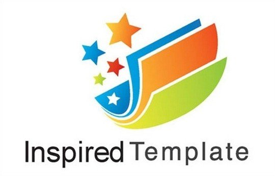 inspired template - logo psd file