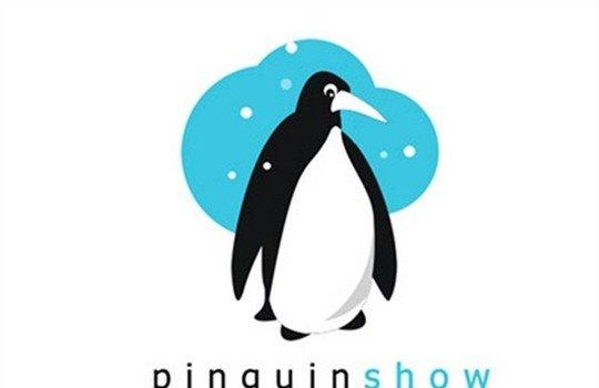 pinguinshow - logo psd file