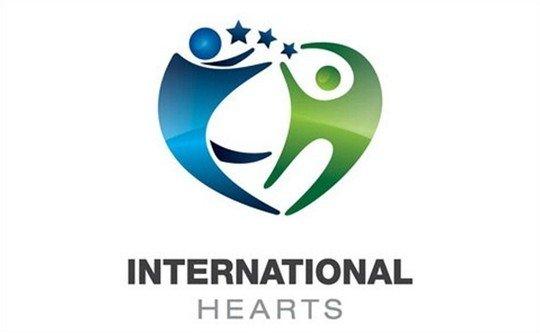 international hearts health and care logo - logo psd file