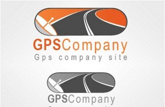 gps company logo ,psd - logo psd file