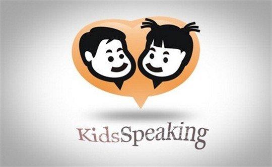 kidsspeaking - logo psd file
