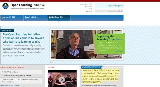 Open Learning Initiative | Open Learning Initiative