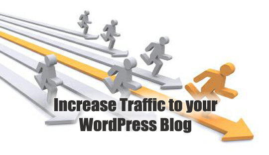 increase traffic to wordpress site