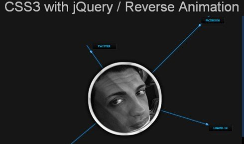 css3 with jquery / reverse animation