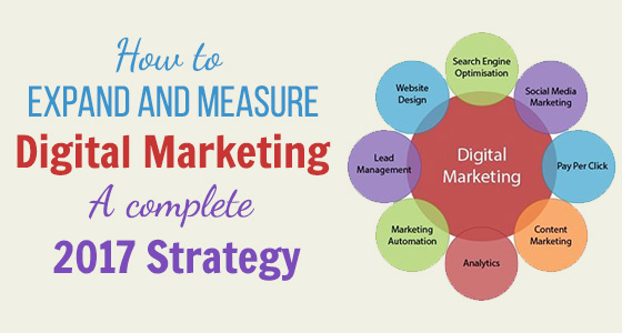 How to Expand and Measure Digital Marketing: A Complete 2017 Strategy