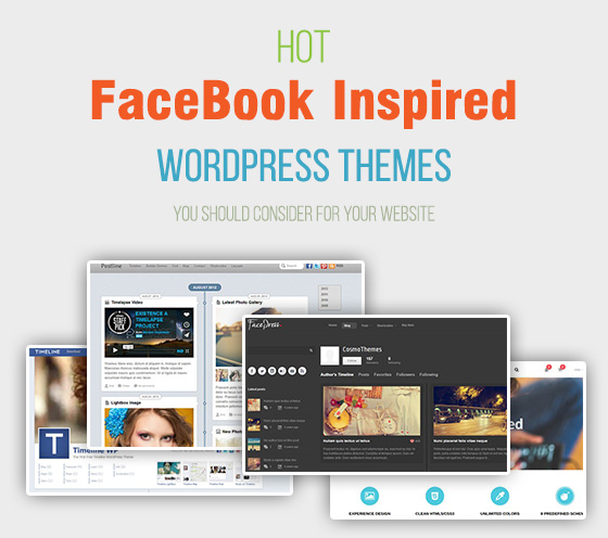 Hot Facebook Inspired Themes