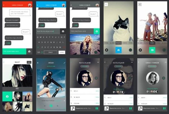 Mobile Application Screen UI Kit