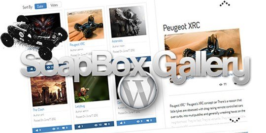 soapbox gallery for wordpress