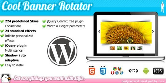 wordpress cool banner rotator jquery plugin