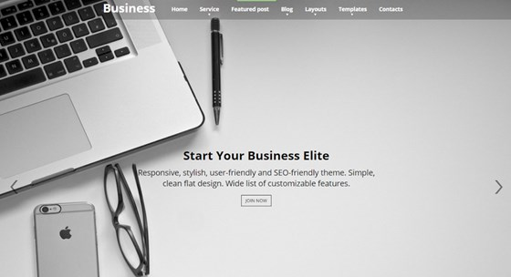 WordPress Business Elite Theme - Choose a Website Template