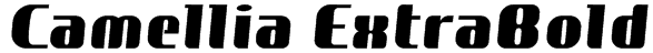 Camellia ExtraBold Font