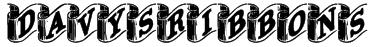 DavysRibbons Font