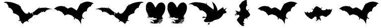 VampyrBats Font