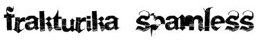 Frakturika Spamless Font