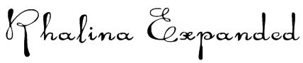 Rhalina Expanded Font