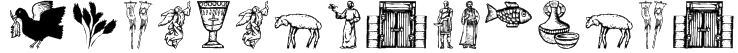 ReligiousSymbols Font