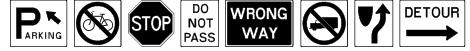 RoadSign Font