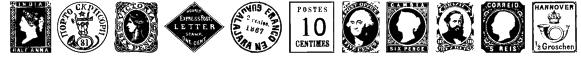 PostageStamps Font
