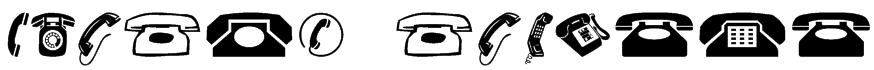 Phones NormalA Font