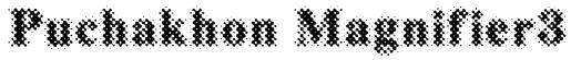 Puchakhon Magnifier3 Font