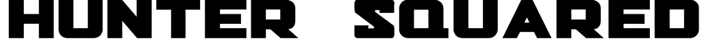 Hunter Squared Font