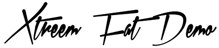 Xtreem Fat Demo Font
