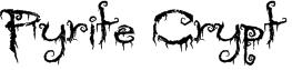 Pyrite Crypt Font