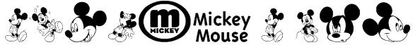 mickey m tfb Font