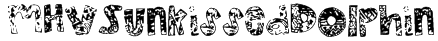 MHVSunkissedDolphin Font