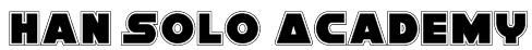 Han Solo Academy Font