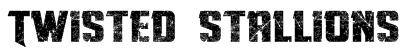 Twisted Stallions Font