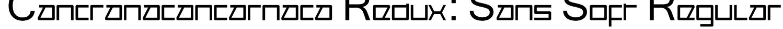 Cancranacancarnaca Redux: Sans Soft Regular Font