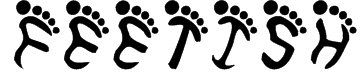 Feetish Font