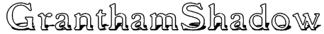 GranthamShadow Font