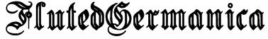 FlutedGermanica Font