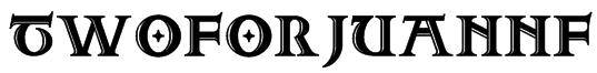 TwoForJuanNF Font