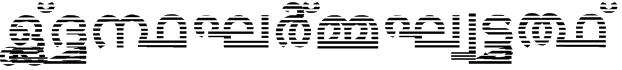 Jacobs-Mal-Zebra Font