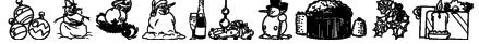 4YEOXMAS Font