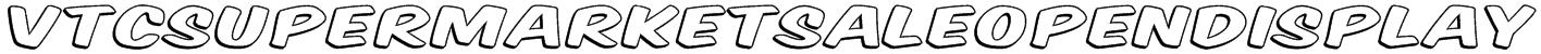 VTCSuperMarketSaleOpenDisplay Font