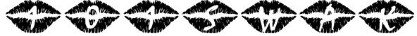 101! SWAK Font