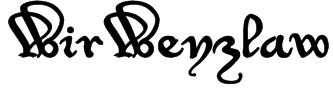 WirWenzlaw Font