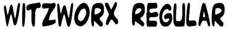 Witzworx Regular Font