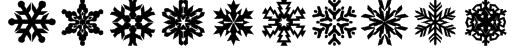 lpsnowflake Font