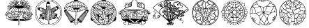Dover Japanese Design Font