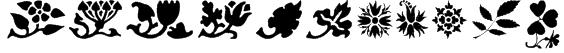 PrintersOrnamentsOne Font