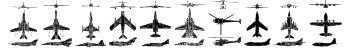 Aircraft Font
