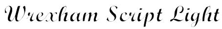 Wrexham Script Light Font