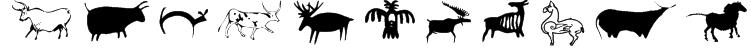 CavePaintingDingbats Font